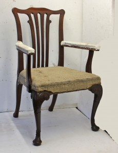 Antique chair restoration