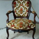 Rosewood Open Armchair