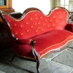 Victorian double-ended couch