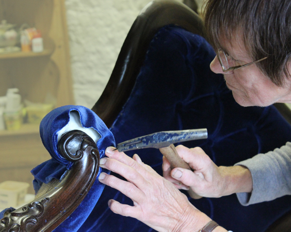 Weekend courses, upholstery, antique chair restoration, furniture restoration