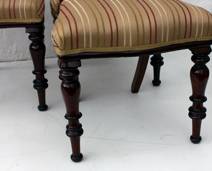 Four Five Victorian Buckle Back Chairs Oldchairs Ie
