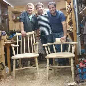Country chair making