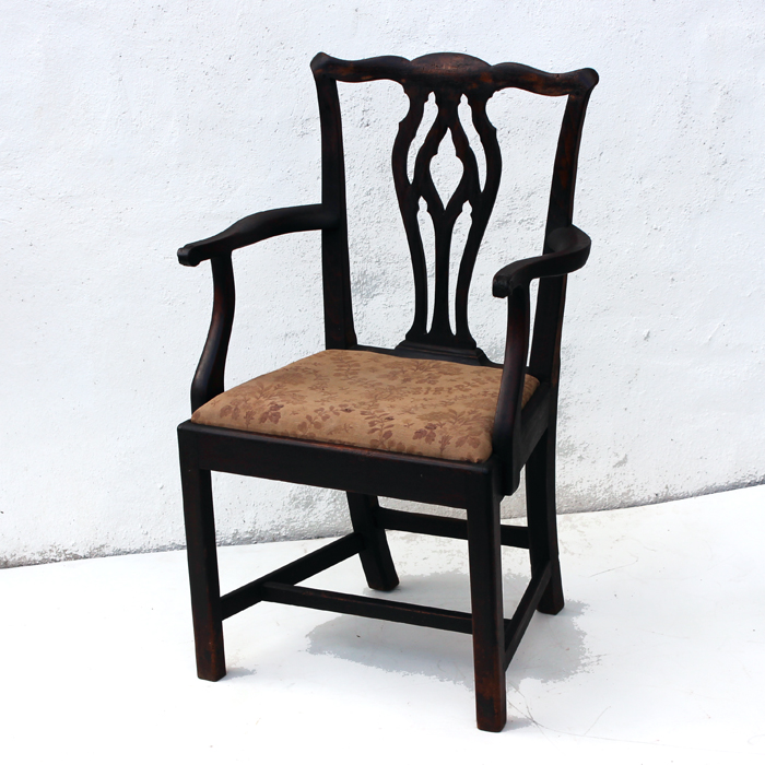 Country Chippendale Carver Chair