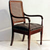 mahogany office chair