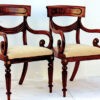 pair regency carvers