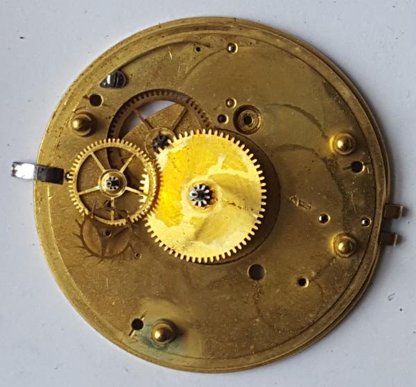 English lever pocket watch