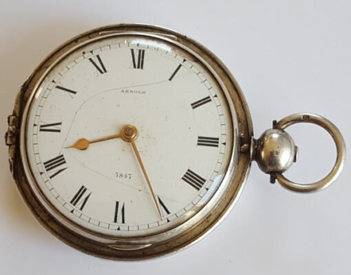 arnold pocket watch