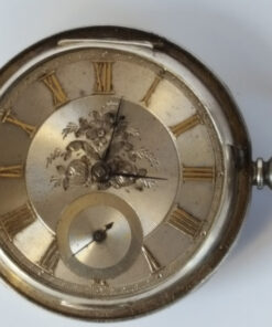 Robert Moir Silver fuse lever pocket watch