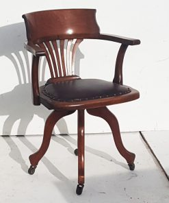 Edwardian Office Swivel Chair